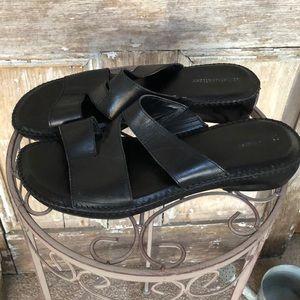 🤑Naturalizer Slip-on Leather Sandals